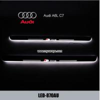 China Audi A6L C7 LED Lights Scuff Plate protector Threshold Tread car Pedal wholesale