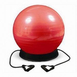 Buy cheap Шарик спортзала с круглыми веревочками основания и тонизировать, доступными в различных размерах product