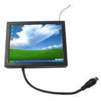 Buy cheap 8 Inch Metal Cover HL-807 VGA Monitor with Touch Screeen for IPC Industrial PC Display product