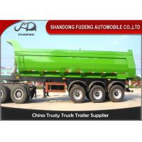 Buy cheap Tri Axle Heavy Duty Dump Semi Trailer For Rock Sand And Coal Delivery product
