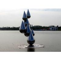 Buy cheap Outdoor Abstract Stainless Steel Garden Sculptures , Decoration Metal Garden Ornaments product