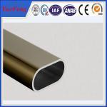 Buy cheap Hot! oem 6000 series aluminium extrusion profile tube, 6063 t5 aluminium wardrobe tube product