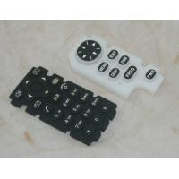 Buy cheap Custom Remote Control Silicone Rubber Keypad OEM / ODM With Squre Shape Buttom product