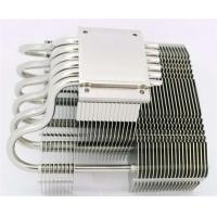 Buy cheap OEM Aluminum stacked fin heat sink with copper heat pipe cooling heatsinks from wholesalers