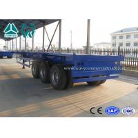 Buy cheap 20FT / 40FT BPW Axle skeletal container semi trailer Heavy duty Chassis product