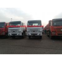 Buy cheap Cargo Truck Chassis Capacity 25 - 40 Tons SINOTRUK HOWO ZZ1257N4641W TR691 Tyre product
