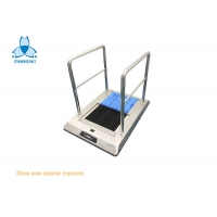 Buy cheap Cold Water Cleaning SS304 Shoe Sole Cleaner Machine For Cleanroom product