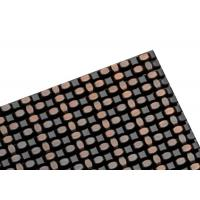 China Fireproof Ceiling Aliuminum Decorative Wire Mesh With Flat Wire 7mmx1mm Diameter on sale