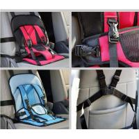Quality Polyester Auto Storage Organizer , Baby Carrier Bag Multi Function Car Cushion for sale
