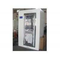 Buy cheap 2 Person Electronic Cleanroom Three Side Blowing Dust Air Shower Channel product