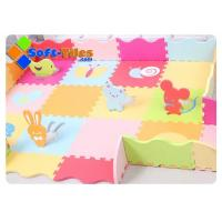 Children PlayMat With Rails Animals