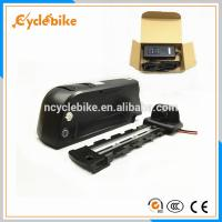 Buy cheap Safety 10Ah 36v Electric Bike Replacement Battery Pack , Downtube Battery For Electric Bike product