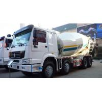 Buy cheap 16cbm 8x4 Sinotruk HOWO Concrete Mixer Truck Red White Color 20-60 Ton CCC Passed product
