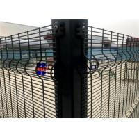 Buy cheap 76.2mm×12.7mm Wire Mesh Security Fencing 3×0.5 Hole Size ISO Approval product