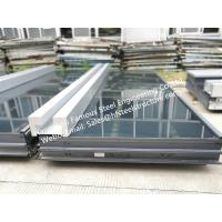 China Pre-glazed Double Skin Unitized Glass Façade Curtain Wall Hidden Frame Design and Installation wholesale
