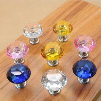 Buy cheap Crystal Door Knobs Cabinet Pulls Drawer Furniture Handles Hardware product