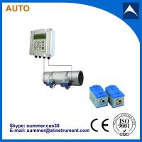 Buy cheap Wall Mounted Clamp On Type Ultrasonic Flowmeter/Fixed Ultrasonic Flow Meter with reasonabl product