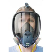 Buy cheap BTV Rubber And Plastic Full Face Dust Mask For Tunnelling Long Single Tube product