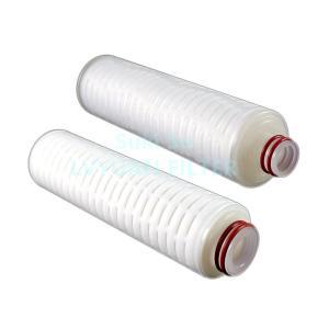 Buy cheap DOE 222 226 215 0.22 Micron 60um PP PTFE Membrane Filter Cartridge product
