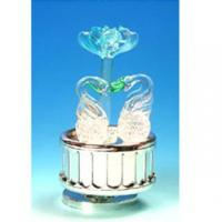 Buy cheap Musical Box Decorated with Hand-Made Glass Figurines #380 product