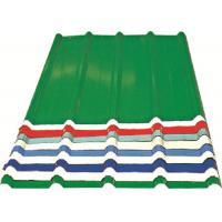 China Red/ Blue/ White Corrugated Metal Sheets , Recyclable Steel Sheets - Roof/Wall on sale