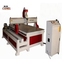 Buy cheap Jinan CAMEL 1325 4 axis cnc router round wood rotary carving machine for Sculpture and furniture product