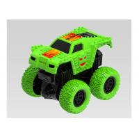 Buy cheap Mini Pull Back Monster Trucks Children's Play Toys Friction Vehicle Big Wheels from wholesalers