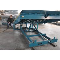 Buy cheap 6000Kg Stationary Container Loading Dock Ramp , adjustable hydraulic dock levelers product