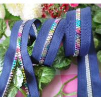 Buy cheap Long Fashion No. 7 Rainbow Zippers With High Strengh Tape product