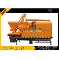 China Portable Cement Pump Truck , Cement Mixing Truck 5.5kw Hoist Motor on sale