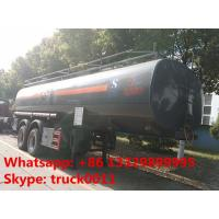 Buy cheap 2 axles 25cubic meters chemical tank trailer for sale,2017s factory sale best price 25,000Liters chemical tank trailer product