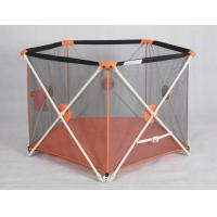 Buy cheap Outside Folding Portable Playpens For Babies / Adjustable Child Playpen Fence product