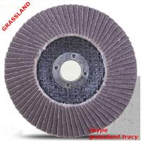 China 4.5'' 115X22MM abrasive disc sanding paper for paint remove with MPA EN 12413 on sale