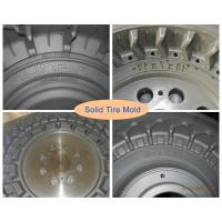Buy cheap Two-piece Forging Mould Steel Solid Tire Mold For  Solid Tire product
