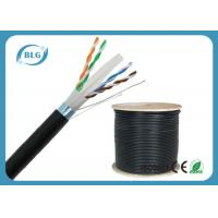 Buy cheap Outdoor FTP Cat6 LAN Cable Heavy - Duty Al Foil Shielding With Double Jacket product