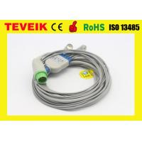 Buy cheap Reusable Biolight A8/A6 ECG cable For Patient Monitor, Round 12pin 5 leads from wholesalers