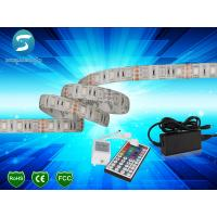 Buy cheap 5m 5050 RGB led strip 60leds/m  led strip,WhitePCB, with 44 keys IR Remote controller product