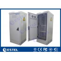 Buy cheap Waterproof Sinlgle Wall Outdoor Power Battery Cabinet / IP55 Outdoor Telecom Cabinet product