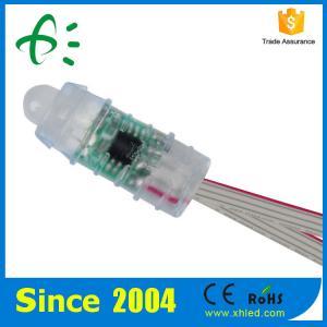 China 12Mm DC05V IP67 rgb LED module , digital rgb LED pixels 0.3 W Power on sale