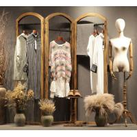 Buy cheap Retail Store Clothing Display Furniture Wooden Cloth Hanger Stand Various Style product