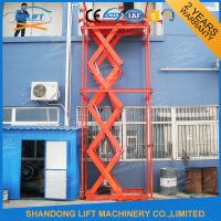 Quality Stainless Steel Stationary Hydraulic Scissor Lift , Stationary Scissor Lift Platforms for sale