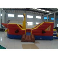 Buy cheap Commercial Water Park Inflatable Pirate Ship Waterproof High Durability inflatable pirate boat jump house product