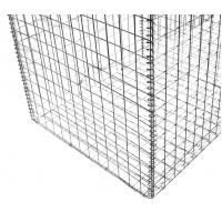 Buy cheap Construction Gabion Wire Mesh Rock Basket Retaining Wall 4.0mm-5.0mm Wire Gauge from wholesalers