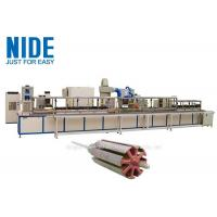 Buy cheap Automatic Armature Powder Coating Equipment / Rotor Powder Coating Oven product