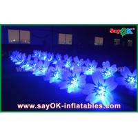 China 8m Colorful Inflatable Lighting Wedding Flower Chain Decoration In Stage on sale