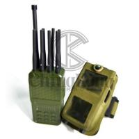 Buy cheap Multiple Bands Portable Cellphone Signal Jammer Wireless With Nylon Cover product