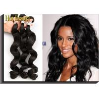 China None Chemical Virgin Peruvian Hair Extensions Loose Wave 12- 28 Shedding Free on sale