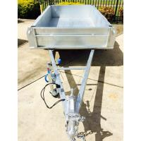 Buy cheap 7x4 Hot Dipped Galvanized Trailer Heavy Duty with Mechanical Disc Brake 1400KG product
