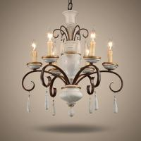 Buy cheap Antique Rustic wood and iron chandelier (WH-CI-29) product