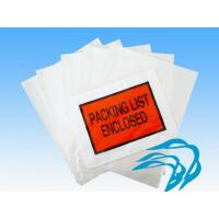 China Other Bags LDPE Packing List Envelope wholesale